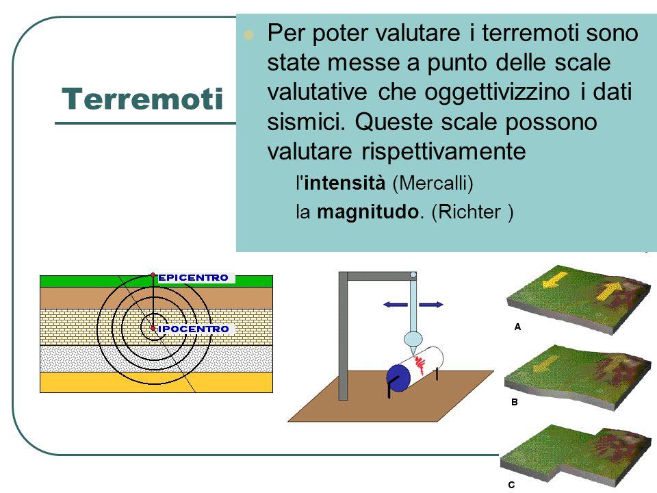 Per poter valutare i terremoti sono state messe a punto delle scale valutative che oggettivizzino i dati sismici. Queste scale possono valutare rispettivamente