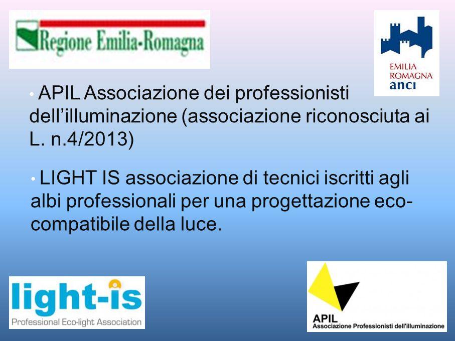 APIL Associazione dei professionisti dell'illuminazione (associazione riconosciuta ai L. n.4/2013)
