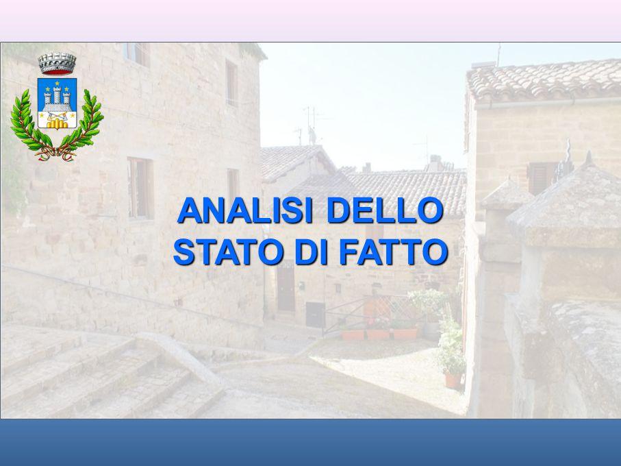 ANALISI DELLO STATO DI FATTO