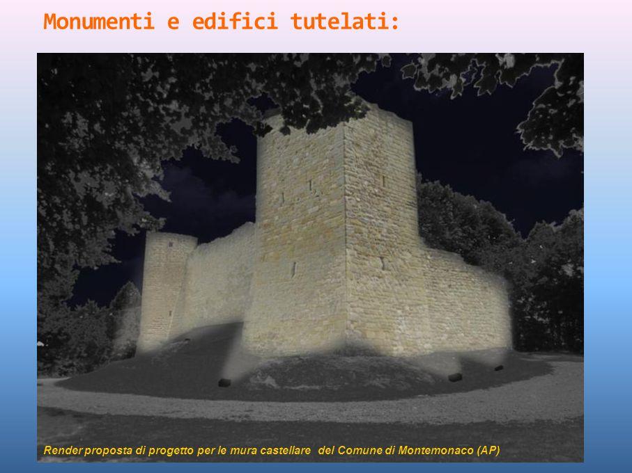 Monumenti e edifici tutelati: