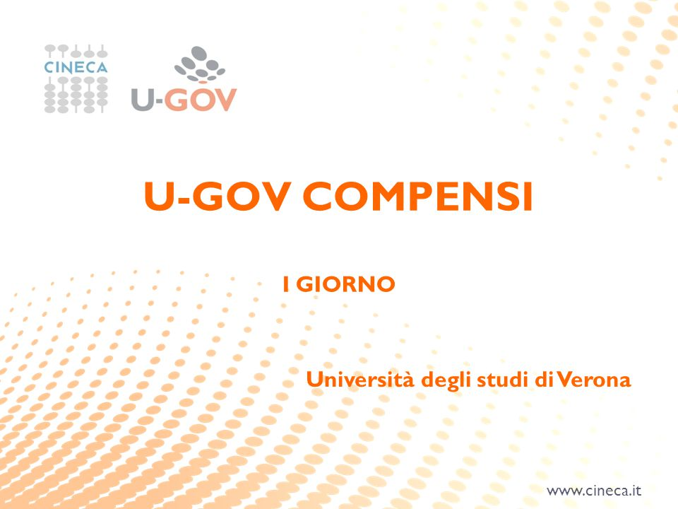 U-GOV COMPENSI I GIORNO