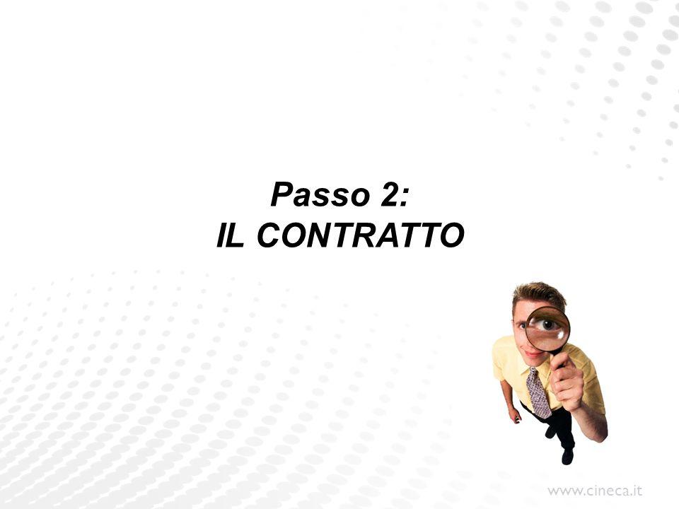 Passo 2: IL CONTRATTO