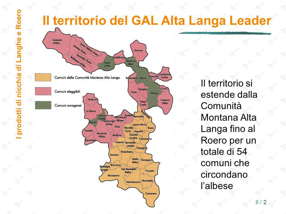 Il territorio del GAL Alta Langa Leader