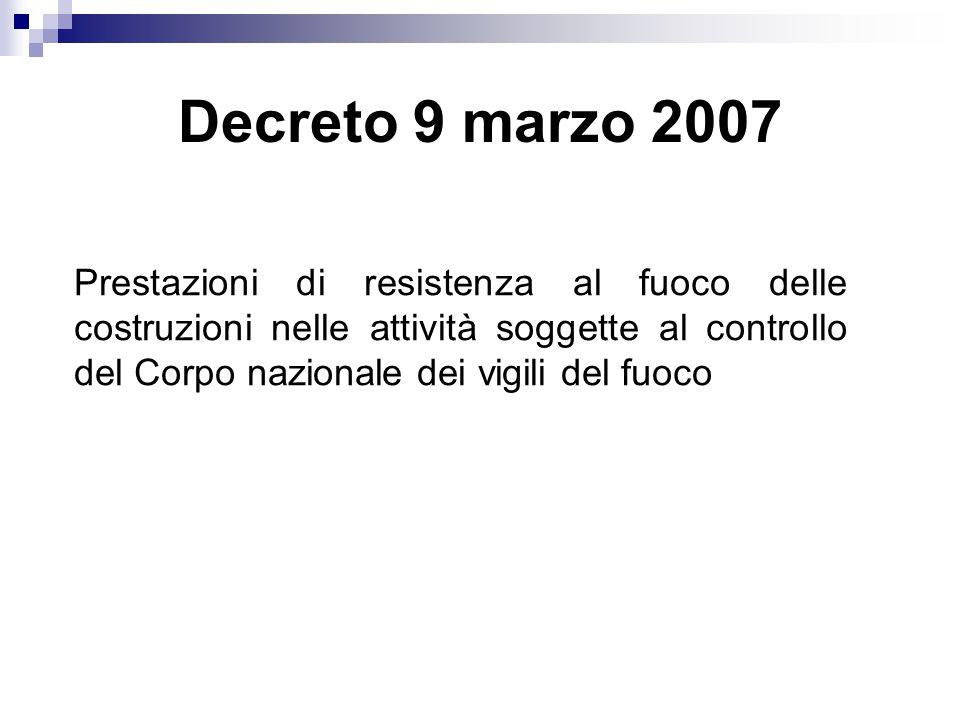 Decreto 9 marzo 2007