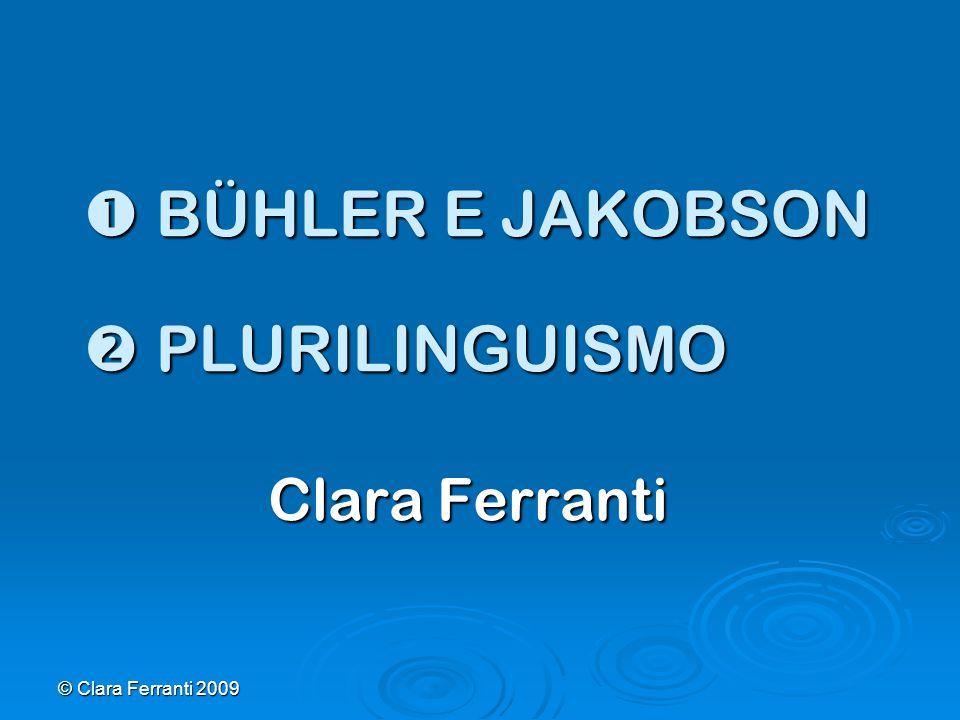  BÜHLER E JAKOBSON  PLURILINGUISMO