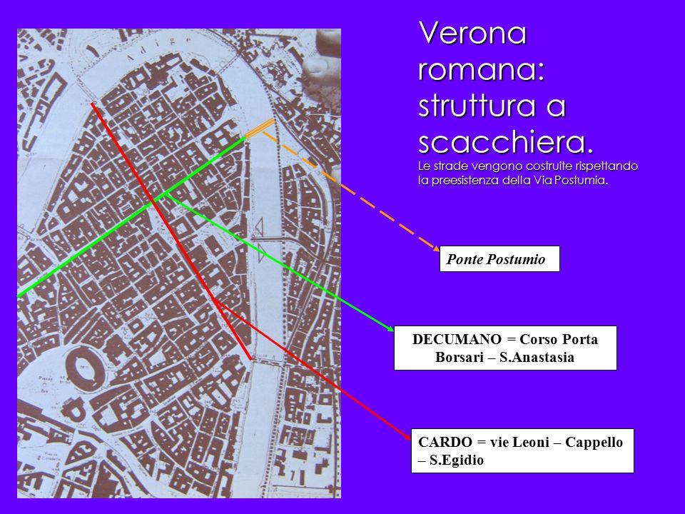 DECUMANO = Corso Porta Borsari – S.Anastasia