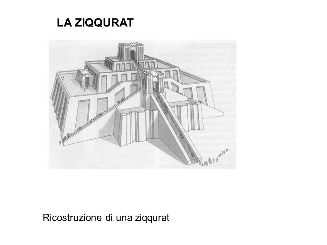 LA ZIQQURAT Ricostruzione di una ziqqurat