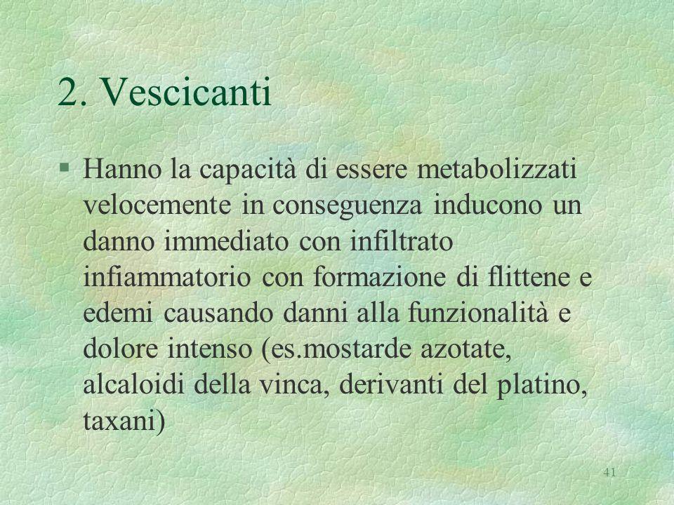2. Vescicanti