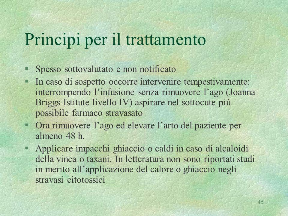 Principi per il trattamento