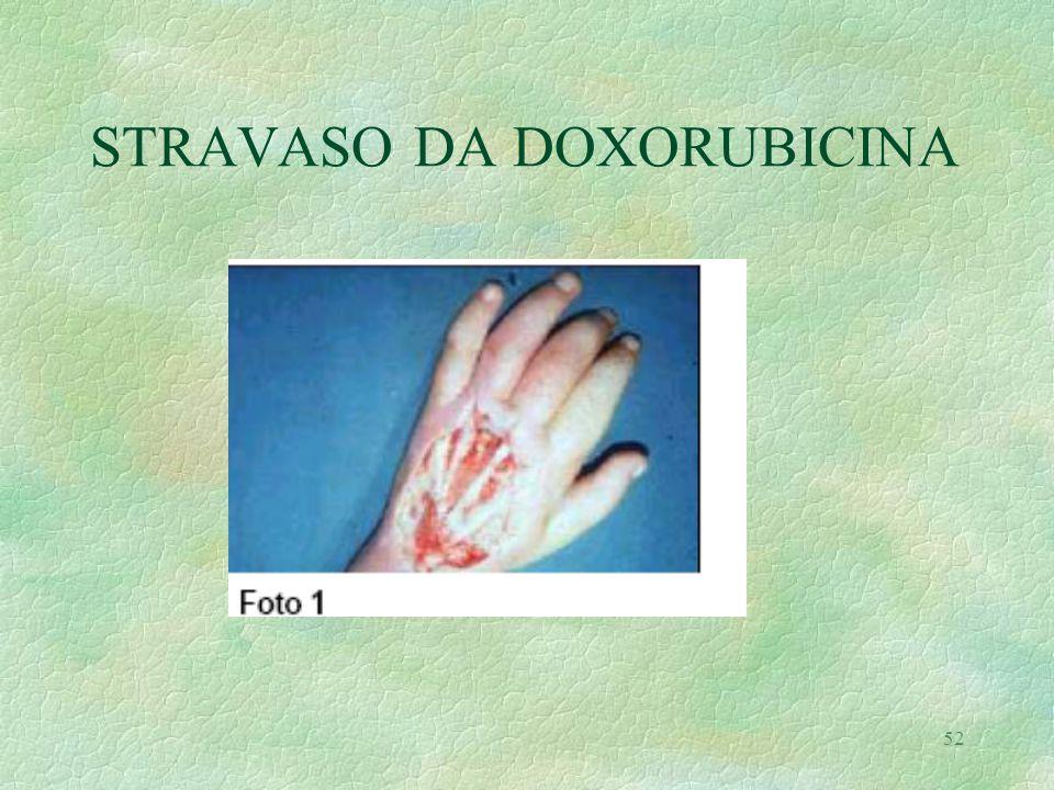 STRAVASO DA DOXORUBICINA