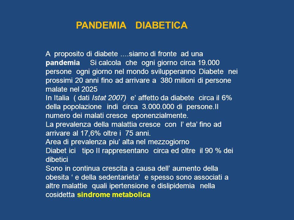 PANDEMIA DIABETICA