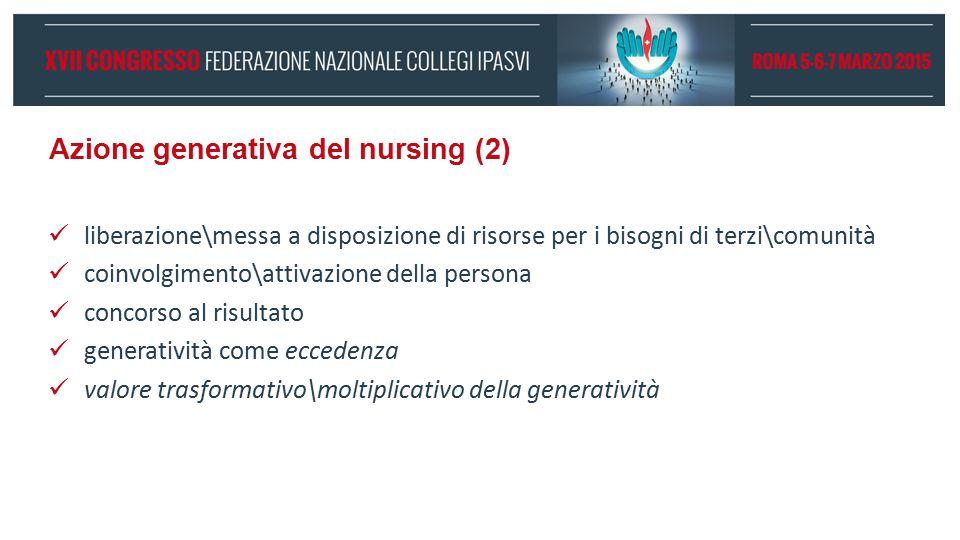 Azione generativa del nursing (2)
