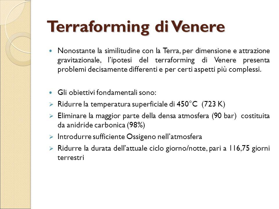 Terraforming di Venere