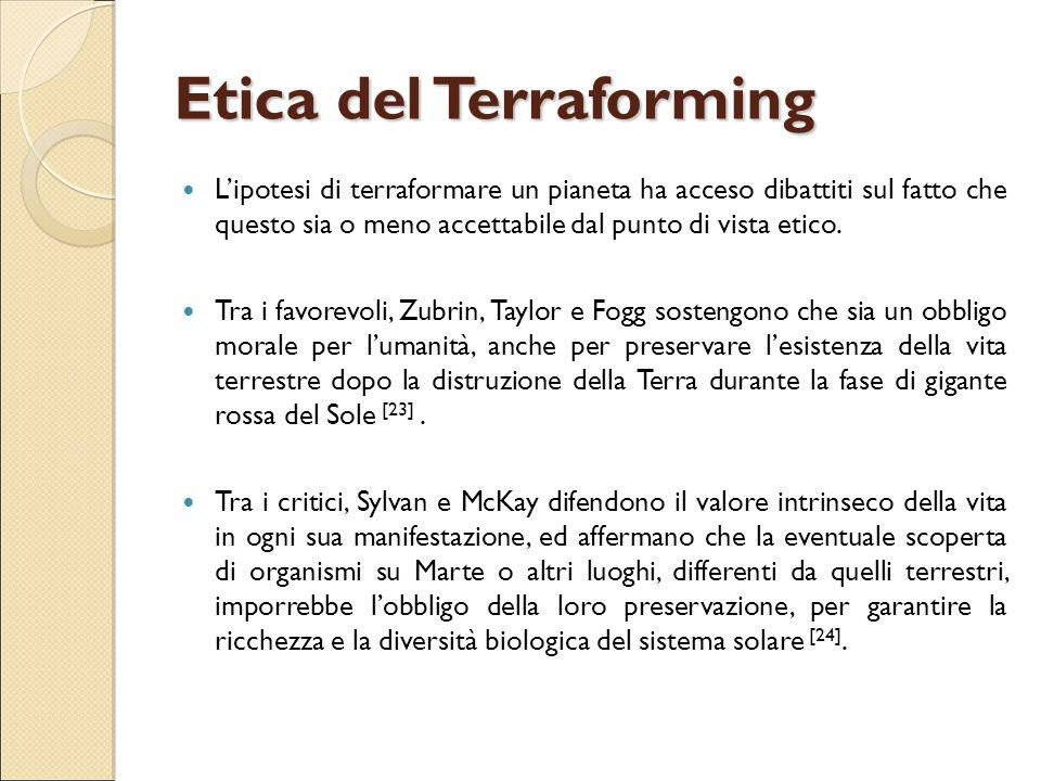 Etica del Terraforming