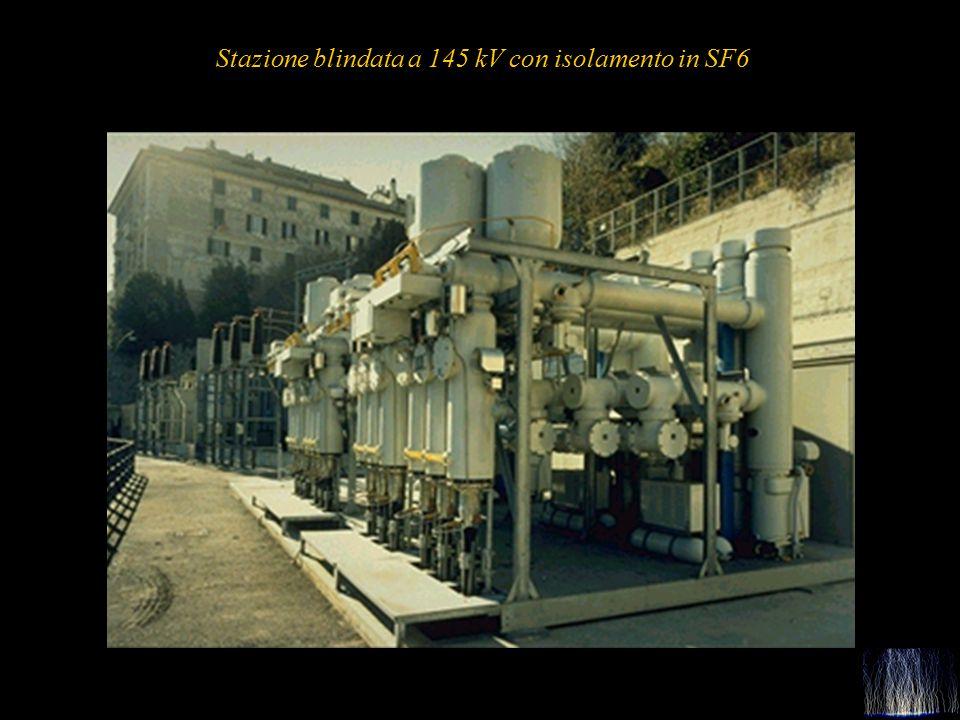 Stazione blindata a 145 kV con isolamento in SF6