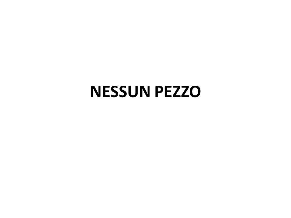 NESSUN PEZZO
