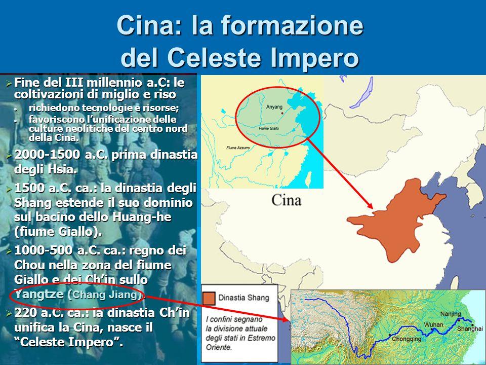 Cina: la formazione del Celeste Impero