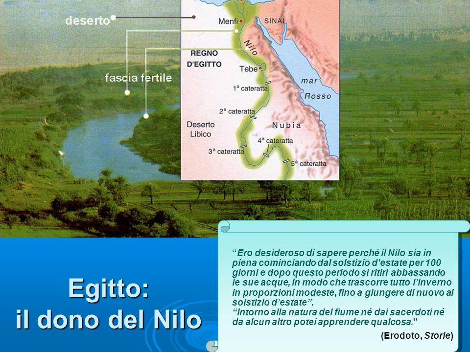 Egitto: il dono del Nilo