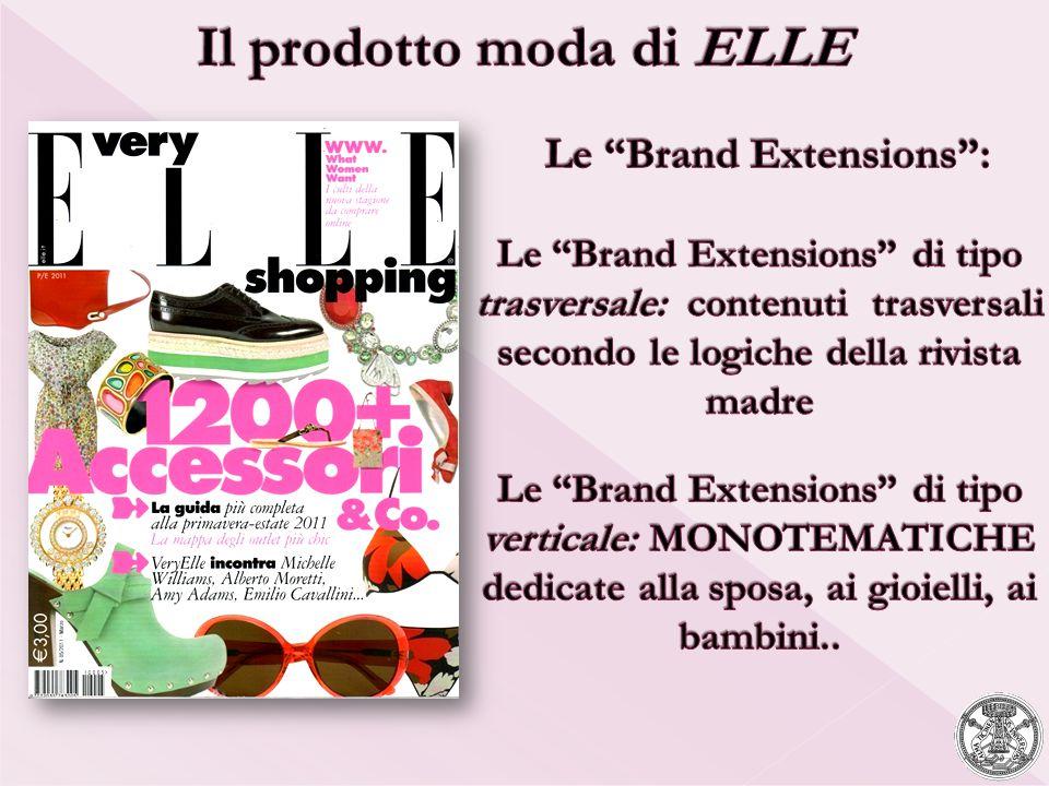 Il prodotto moda di ELLE Le Brand Extensions :