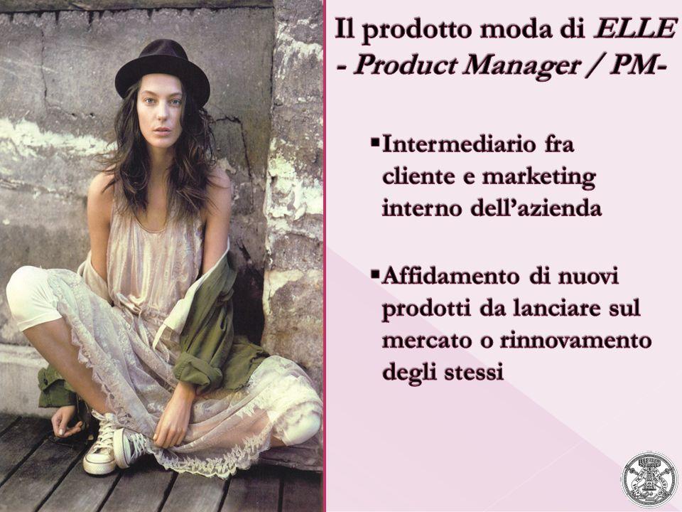 Il prodotto moda di ELLE - Product Manager / PM-