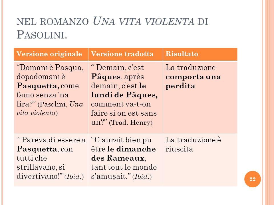 nel romanzo Una vita violenta di Pasolini.