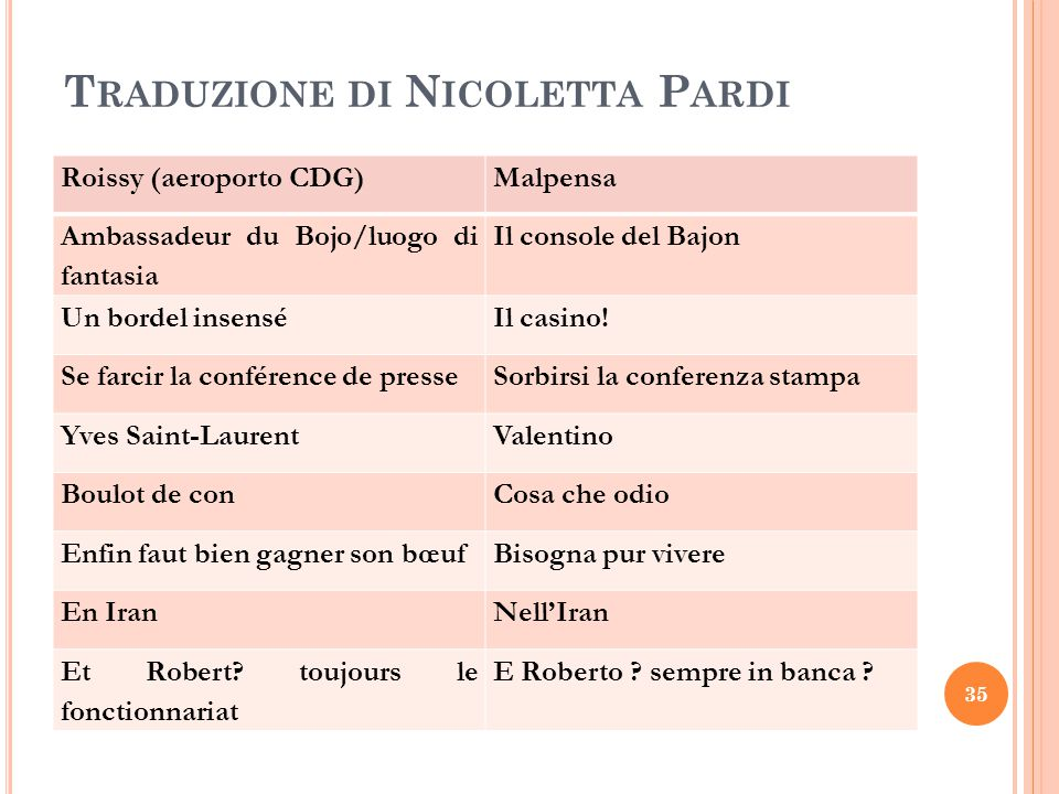 Traduzione di Nicoletta Pardi