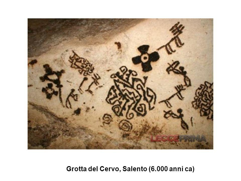Grotta del Cervo, Salento (6.000 anni ca)