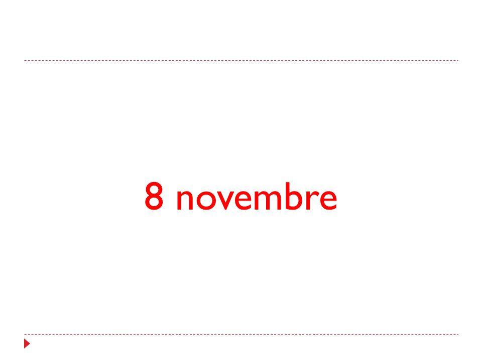 8 novembre