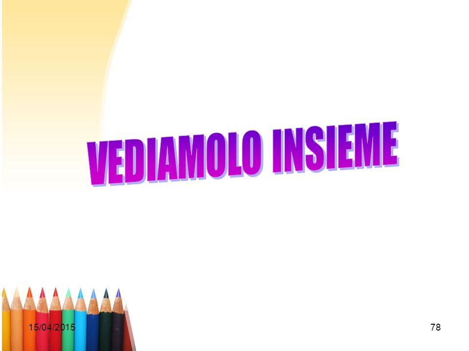 VEDIAMOLO INSIEME 12/04/2017