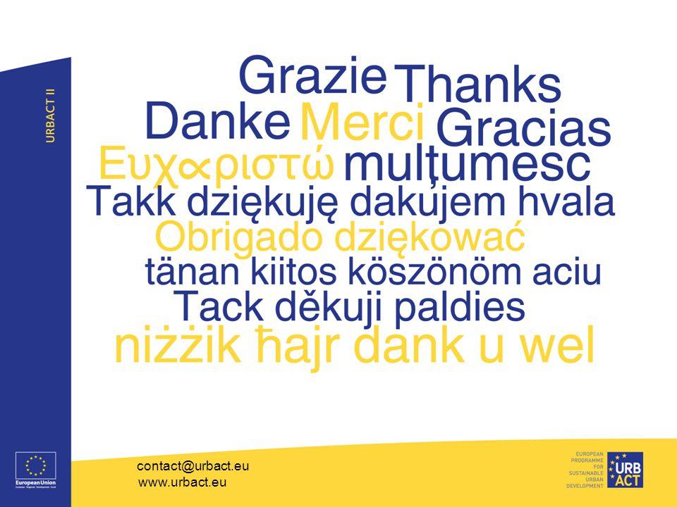 contact@urbact.eu www.urbact.eu 23