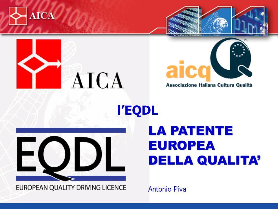 ECDL ed EQDL Partnership tra AICQ ed AICA