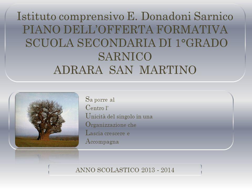 Istituto comprensivo E. Donadoni Sarnico