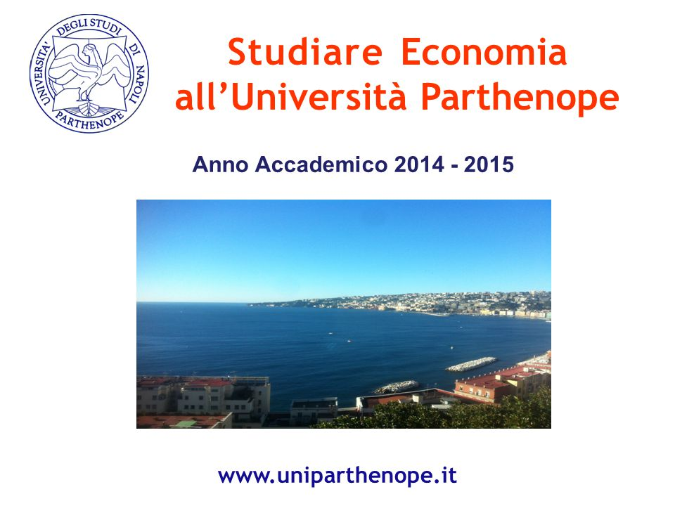 all'Università Parthenope