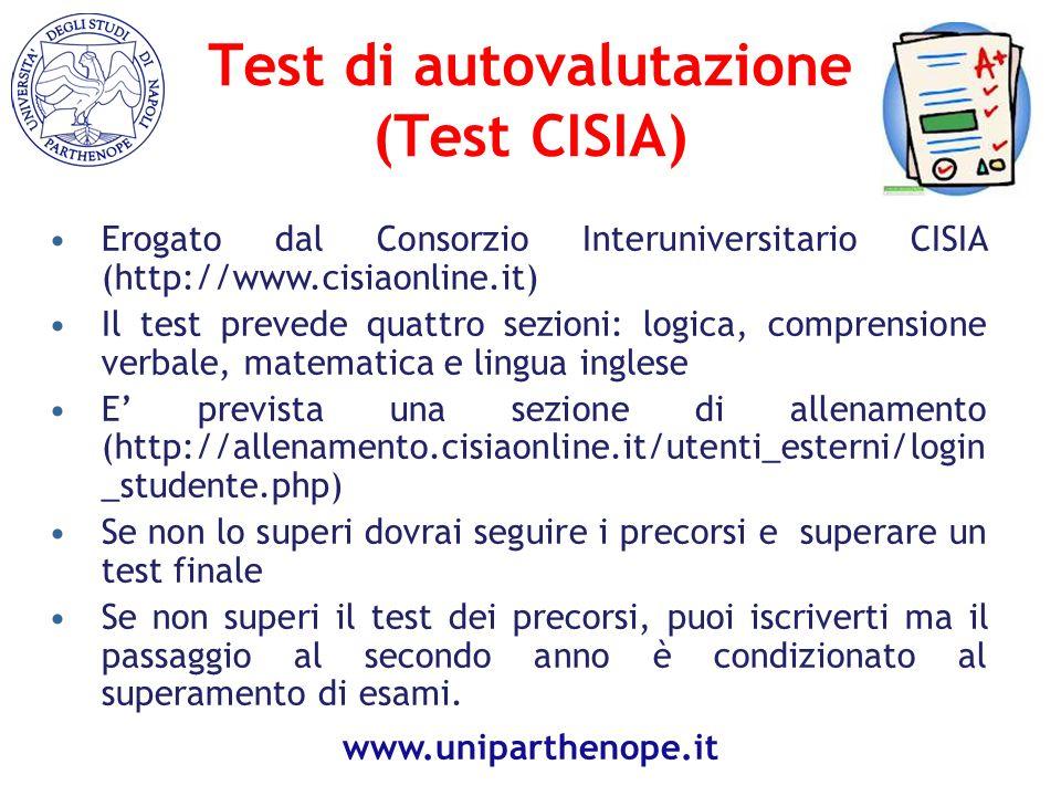 Test di autovalutazione (Test CISIA)