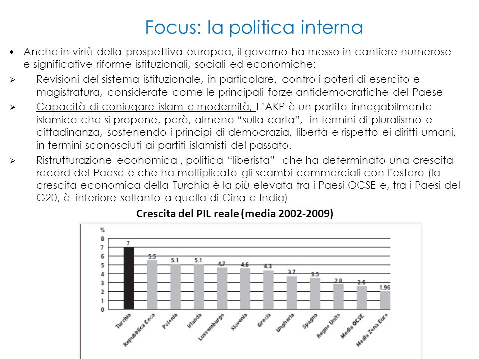 Focus: la politica interna