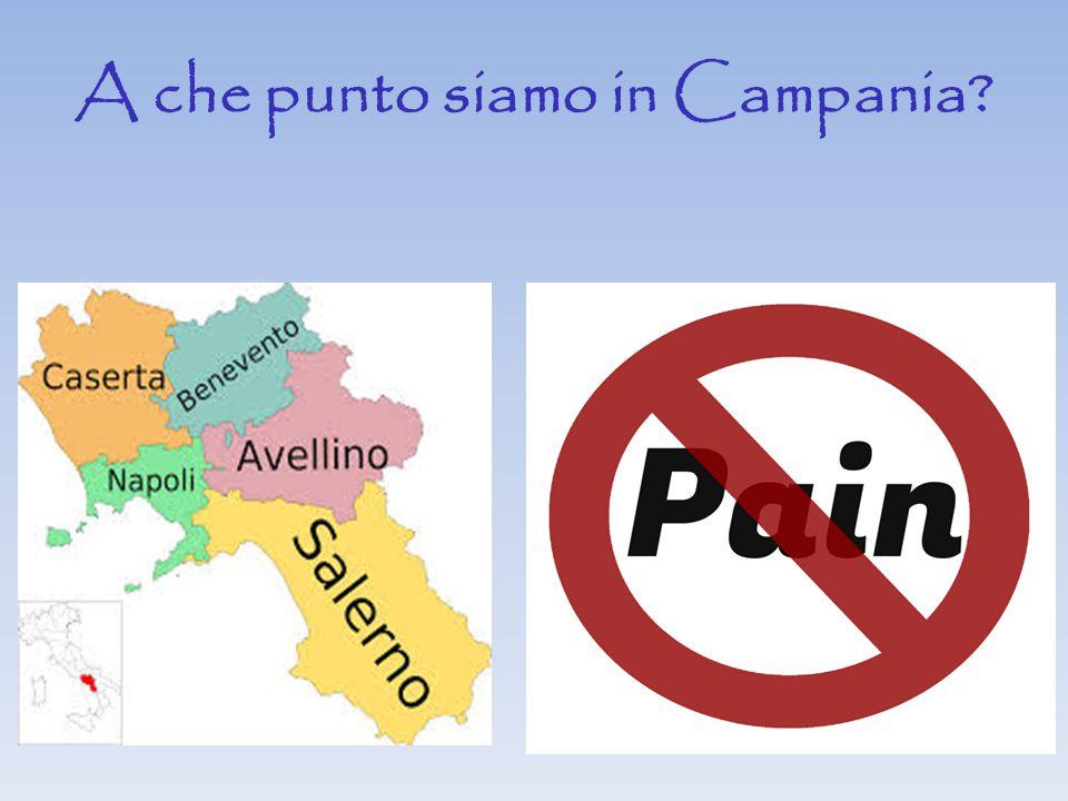 A che punto siamo in Campania