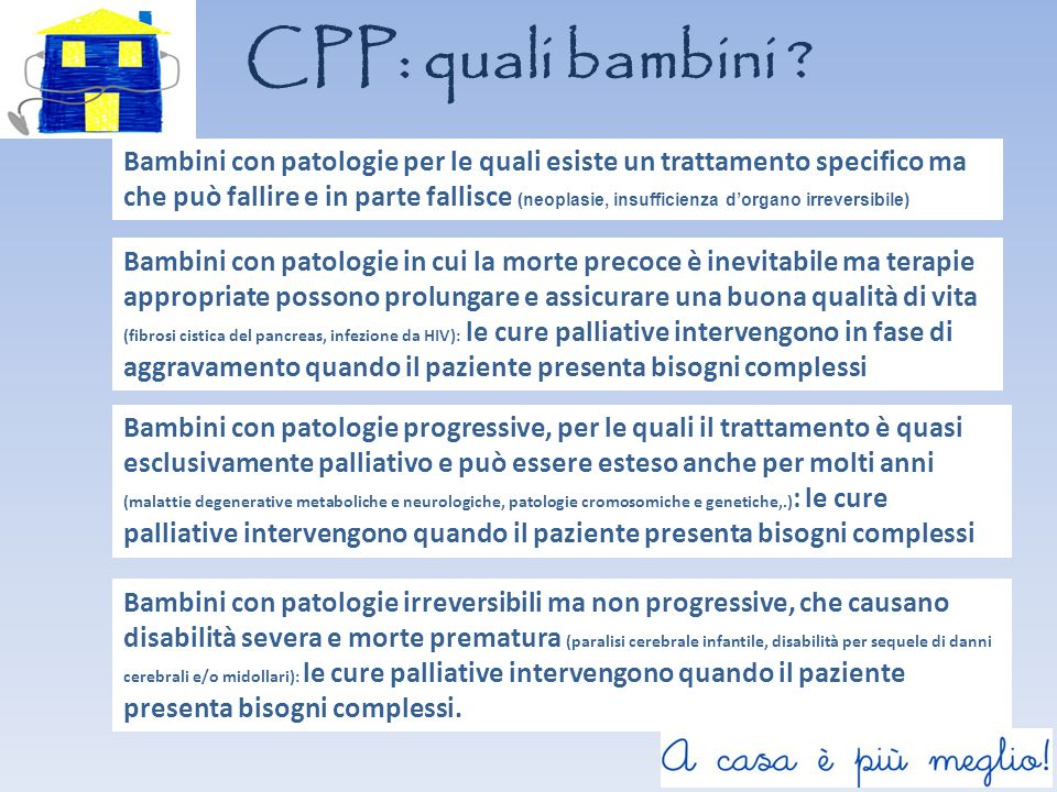 CPP: quali bambini