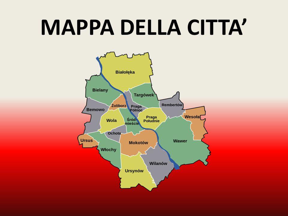 MAPPA DELLA CITTA'