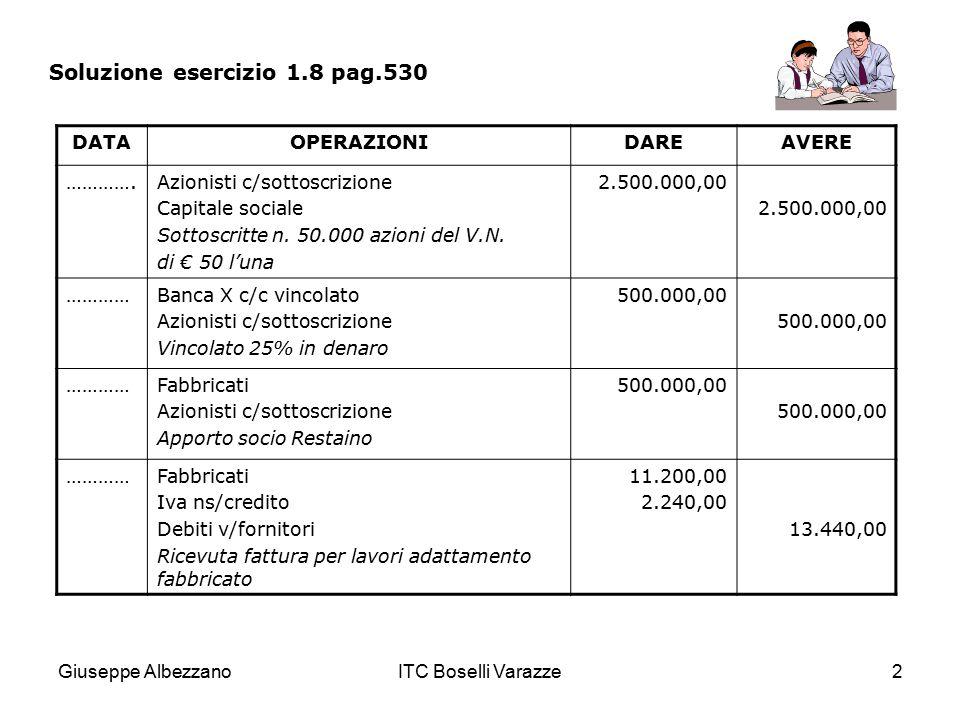 Soluzione esercizio 1.8 pag.530