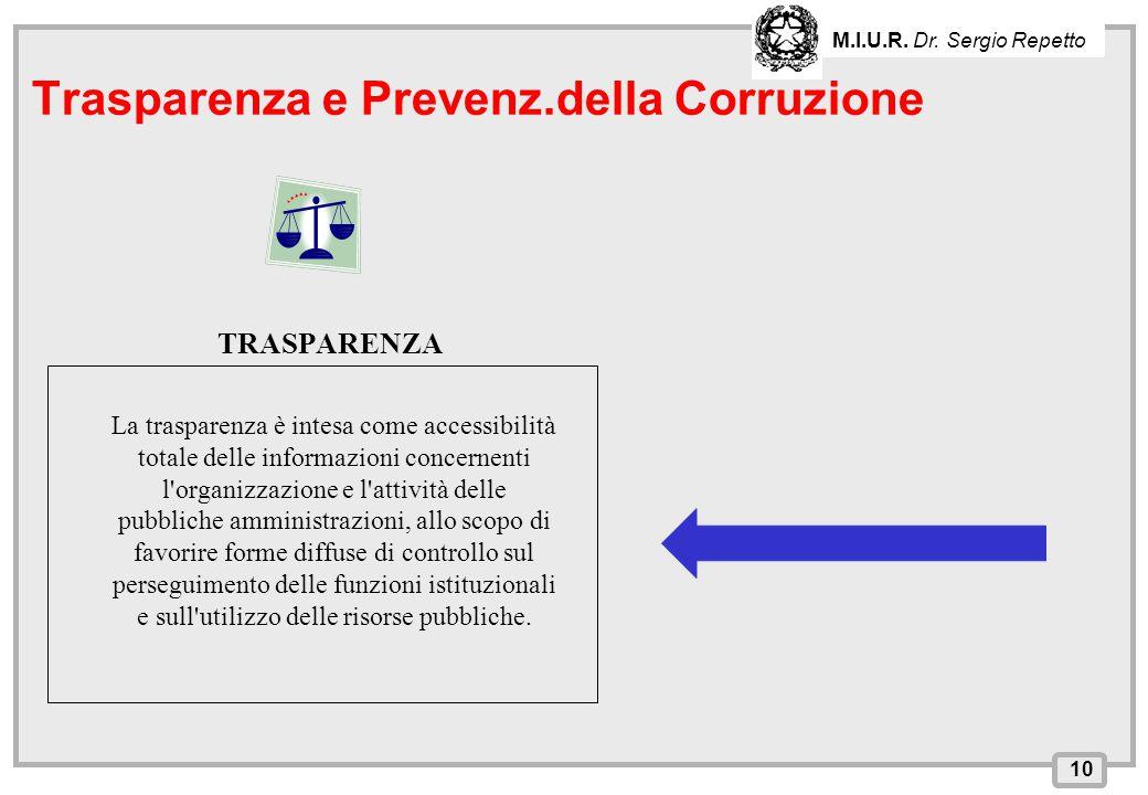Trasparenza e Prevenz.della Corruzione
