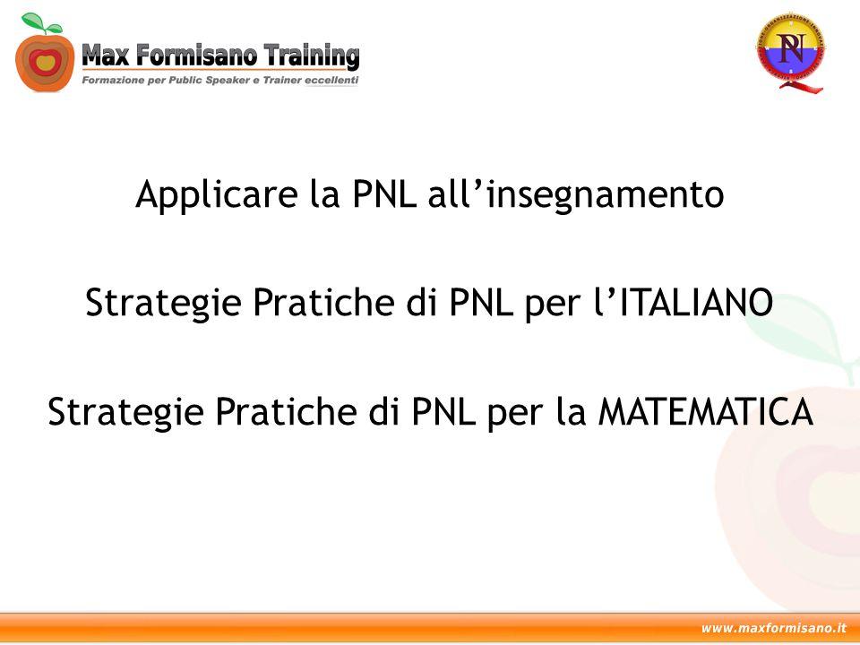 Applicare la PNL all'insegnamento