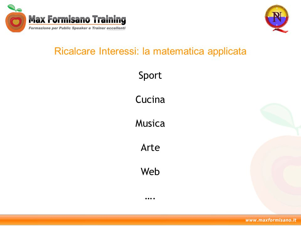 Ricalcare Interessi: la matematica applicata