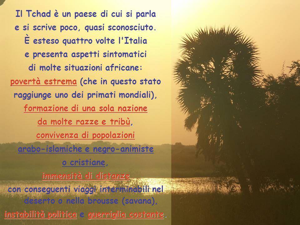 Il Tchad è un paese di cui si parla