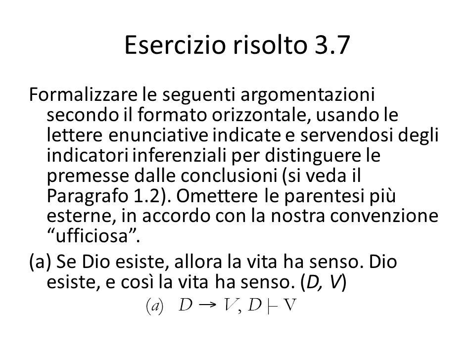 Esercizio risolto 3.7