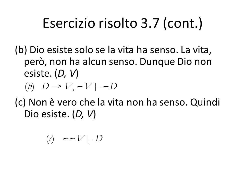 Esercizio risolto 3.7 (cont.)
