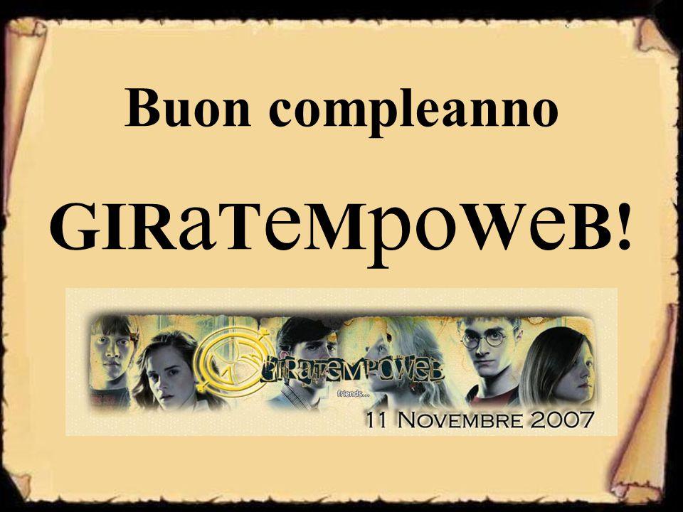 Buon compleanno GIRaTeMpoWeB!