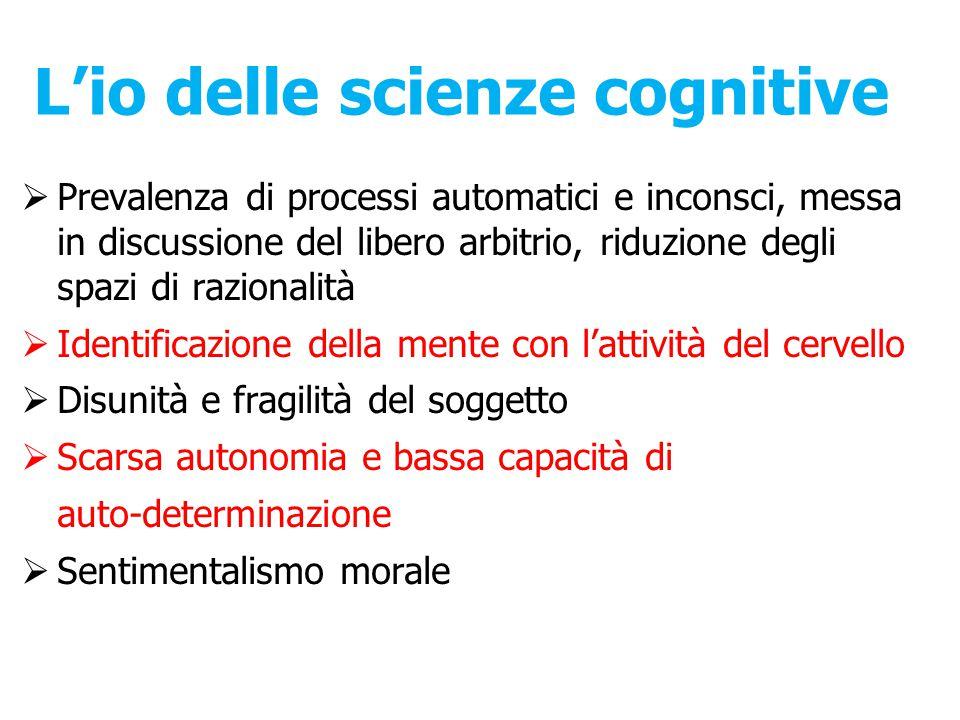 L'io delle scienze cognitive