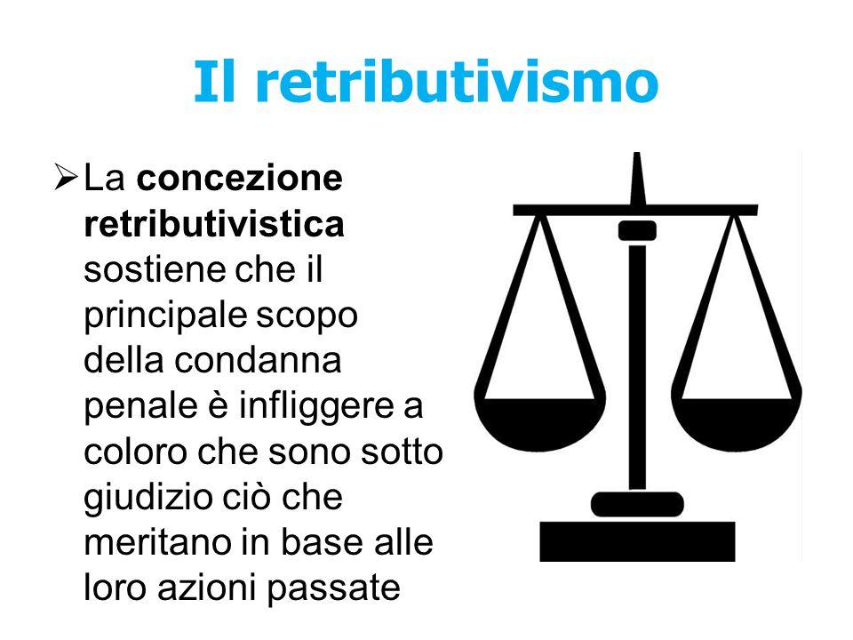 Il retributivismo
