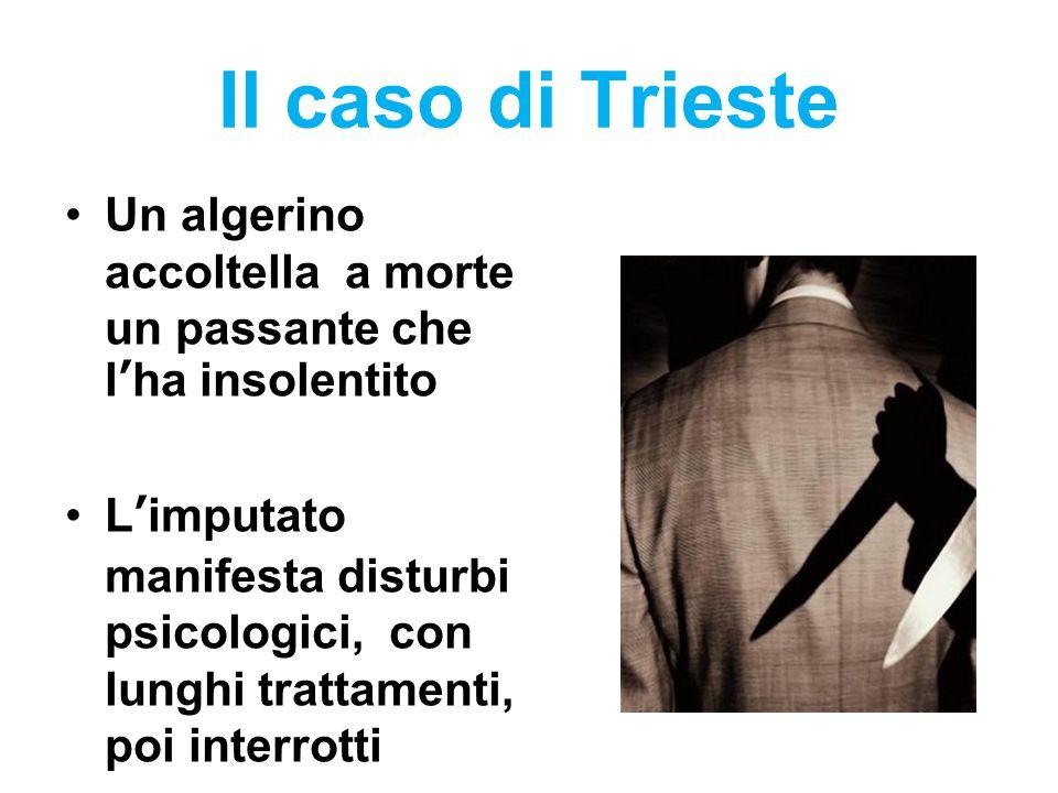 Il caso di Trieste Un algerino accoltella a morte un passante che l'ha insolentito.