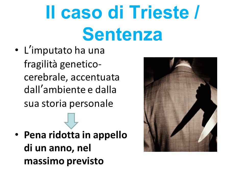 Il caso di Trieste / Sentenza